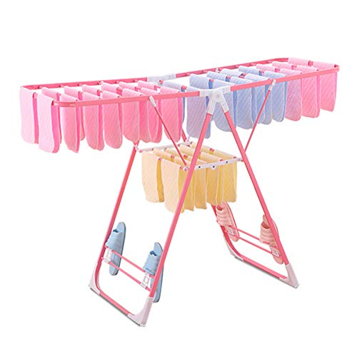 SHOW Homewares Winged Folding Clothes Airer Laundry Drying R