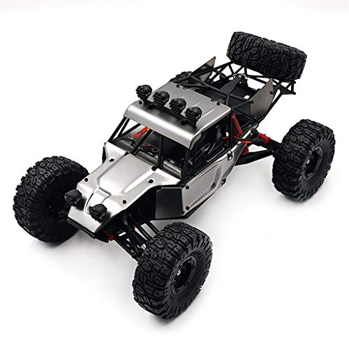 Ktyssp FY03 1:12 Scale 2.4G 4WD High Speed Off-Road Vehicle Rock Crawler RC Car (Gray)