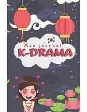Mon journal K-drama: Carnet de suivi pour le visionnage de vos séries K-pop - 100 Fiches à remplir pour garder une trace de vos séries asiatique