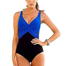 GWELL Womens Tummy Control Push Up One Piece Swimsuit Swimwear Monokinis