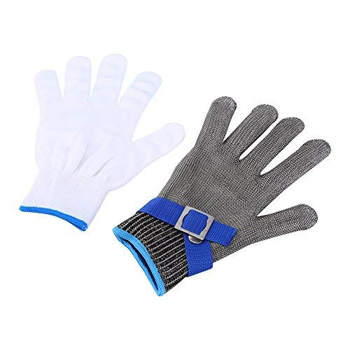 High Performance Cut-resistant Protect Glove 5 Anti-cut Level Cut Protection Resistant Safety Gloves - Large