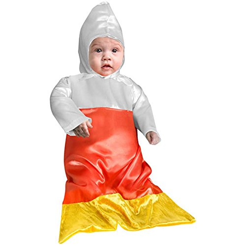 [Baby Candy Corn Halloween Costume (Size:6 Months)] (Baby Corn Bunting Costumes)