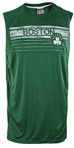 Zipway Boston Celtics NBA Big Mens Muscle Shirt, Green