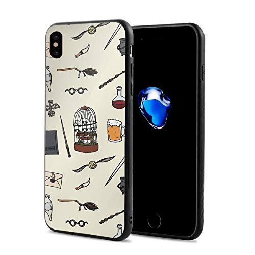 iPhone X Drop Protection Cover Pattern Owl and Wand iPhone X - Lifeproof Ipod Case Camo 4
