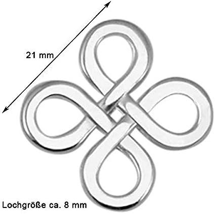Halbmond Gold DQ Metall 2 STK Sadingo Schmuckverbinder Zwischenst/ück Mond - 14 x 7 mm Makramee Armb/änder basteln