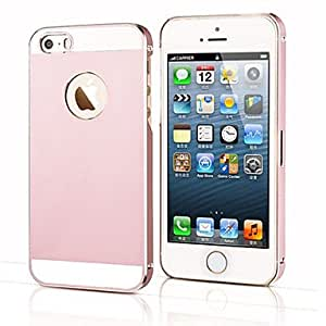 NEW Toophone? JOYLANDSimple Design Ultra-thin Metal Back Case for iPhone 5/5S (Assorted Color) , White