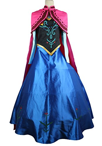 Women Anna Cosplay Costume
