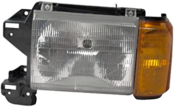OE Replacement Ford Driver Side Headlight Assembly Composite Unknown Partslink Number FO2502104