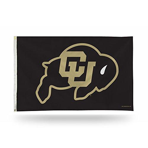 3 Buffalo - NCAA Colorado Buffaloes 3-Foot x 5-Foot Banner Flag