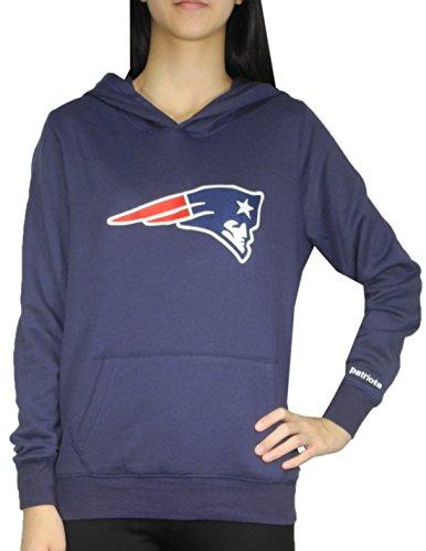 pink-victorias-secret-womens-new-england-patriots-athletic-hoodie-m-dark-blue