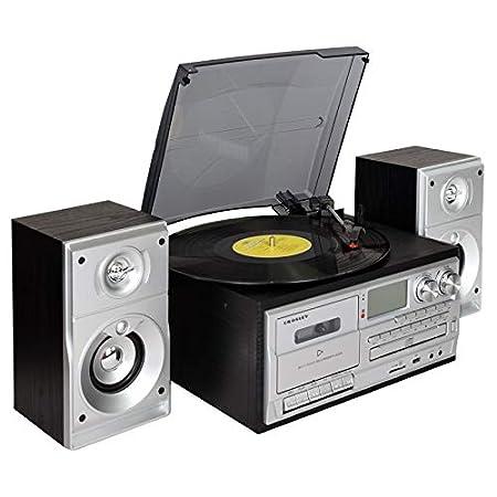 ZXF Disco De Gramófono Negro De Vinilo Retro Multifunción ...