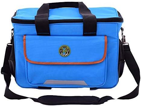 ツールバッグ ハンド/パワーツールのために多機能防水ツールバッグオーガナイザーホームDIY&設備ストレージ 工具収納便利 (Color : Blue, Size : 20inch)