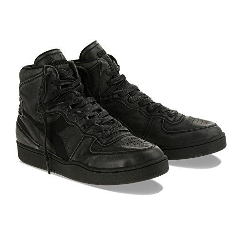 Heritage man for Sneakers USED MI Diadora WHITE C0200 and BASKET BLACK woman fxHTqTF
