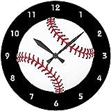 野球のボールの壁掛け時計 2:ピクチャークロック(スポーツシリーズ) [並行輸入品]