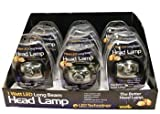 1-Watt Long Beam Headlight (1-pc) (65 Lumens) (3-modes)