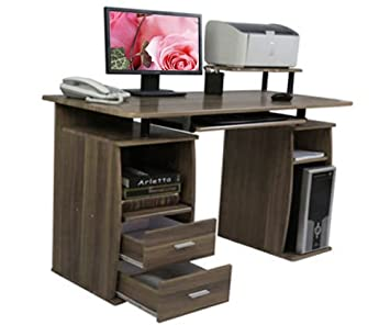 LIFE CARVER PC Table Computer desk with drawers for Home Office