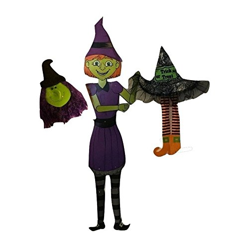 Banshee Costume Ideas (Halloween Decorations - Witches Galore - Scary and Whimsical - Purple Haired Witch Bundle)