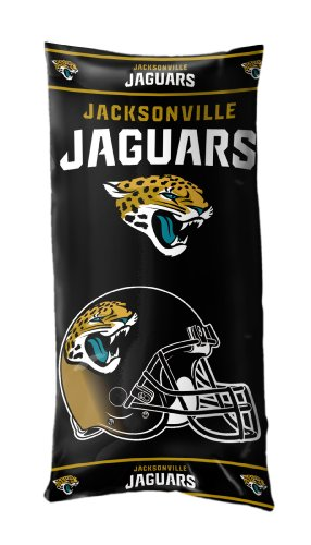The Northwest Company NFL Jacksonville Jaguars Folding Body Pillow