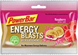 PowerBar Performance Energy Blasts Gel Filled Chews, Raspberry, 2.12-Ounce Pouches (Pack of 12)