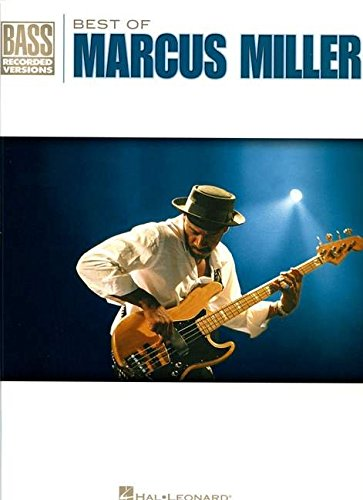 Bass Recorded Versions Songbook - Best of Marcus Miller (Bass Recorded Versions)