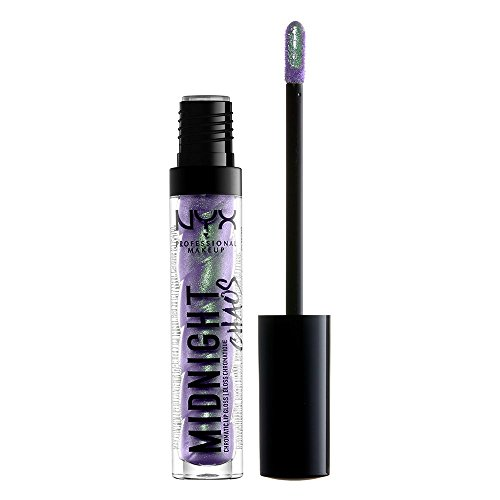 NYX PROFESSIONAL MAKEUP Midnight Chaos Lip Gloss, Pastel Comet, 0.08 Ounce