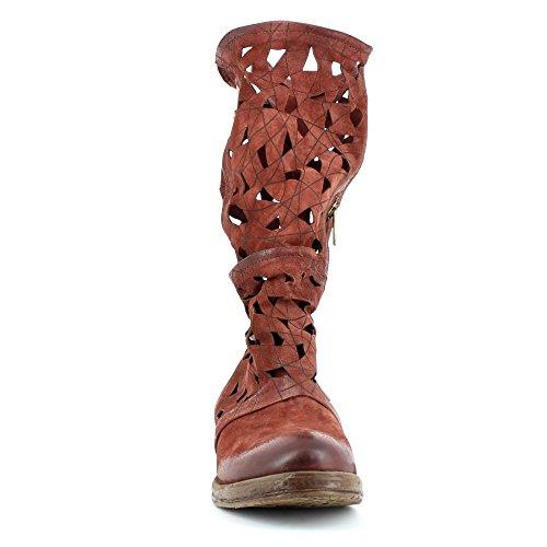A.S.98 Boots Vertical 207323-101 Sangria Natur Airstep as98 Sangria/Natur qfjHUH65