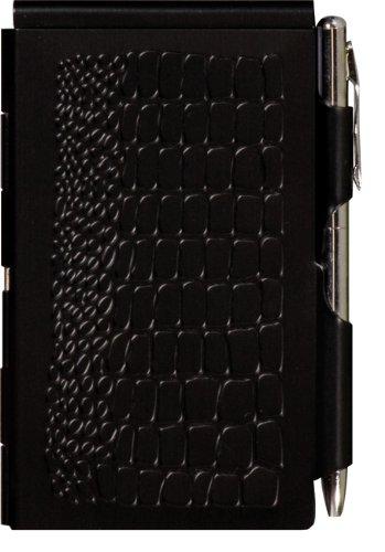 Wellspring Flip Note, Croc Black (FlipNote-Croc)