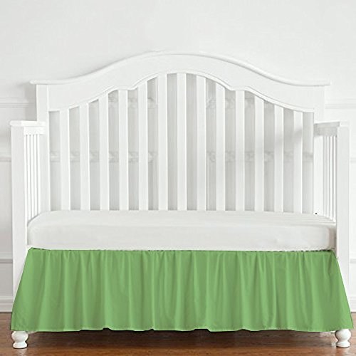 (Baby Crib Bedskirt 1pc - Fits Standard Size 28