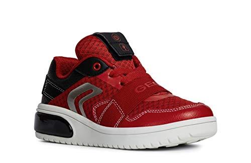 Cut Red Mid Deporte Drogado Sneaker Led De J927qb Black Luz 8nwOX0kP
