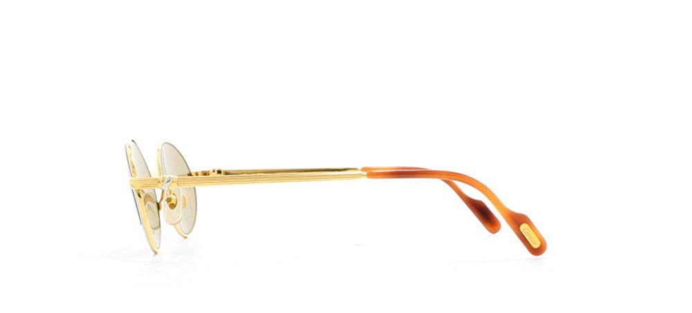 df2cf1620113 Cartier Sorbonne T8200.260 GLD Gold Certified Vintage Oval Sunglasses For  Mens and Womens  Amazon.ca  Clothing   Accessories