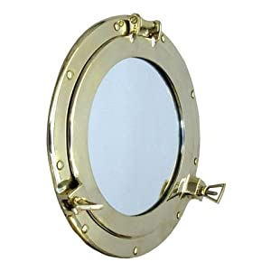 41eGB%2BsaLrL._SS300_ 100+ Porthole Themed Mirrors For Nautical Homes For 2020