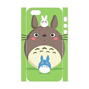 wugdiy New Fashion Cover 3D Case for iPhone 5,5S with custom Totoro