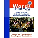 Words Their Way 10 Pk, Bear, Donald R. and Invernizzi, Marcia, 0132877635