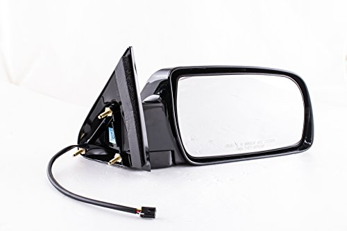 (Passenger Side Mirror for Cadillac Escalade Chevy Blazer Suburban Tahoe GMC Yukon C/K 1500 2500 3500 (1988 1989 1990 1991 1992 1993 1994 1995 1996 1997 1998 1999 2000) Black)