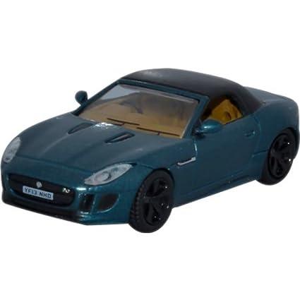 Amazon Com Jaguar F Type Dark Green Black Rhd 0 Model Car
