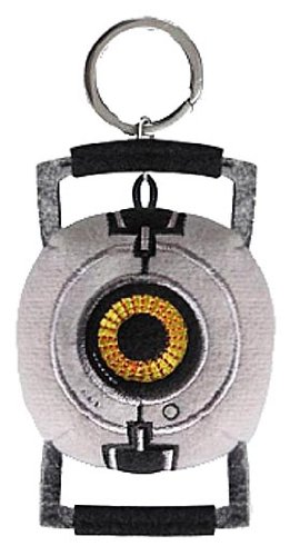 Portal 2 Plush Keychain
