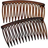 Good Hair Days The Original Grip-Tuth Hair Combs, Set of 2, 40417 Shell 3 1/4'' Wide