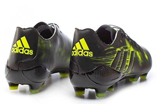 adidas Crazyquick Malice FG - Botas de fútbol para Hombre, Negro - (NEGBAS/NEGBAS/AMASOL) 48