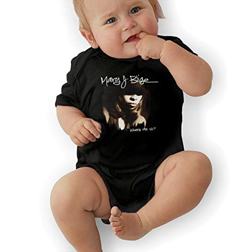 JosephG Toddler Mary J Blige What's The 411 Bodysuit Outfits Black -