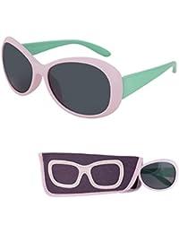 Sunglasses for Children – Smoke Lenses for Kids - Reduces...