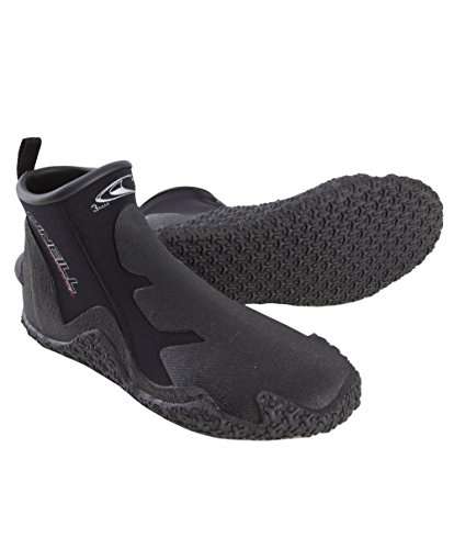 O'Neill Men's Dive Tropical 3mm Booties, Black, ()