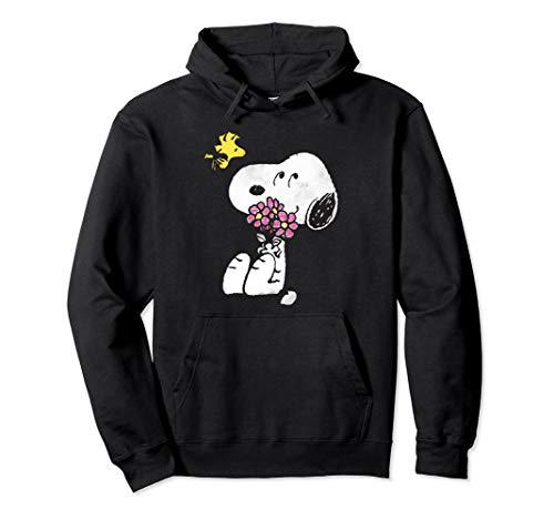 Peanuts Snoopy mother's love flowers Hoodie