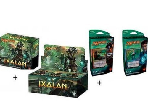 - Magic the Gathering: Ixalan Booster Box + Bundle + Both Planeswalker Decks! MTG Variety Pack Perfect for Collectors