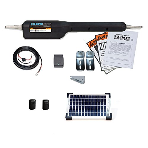 Mighty Mule Automatic Gate Opener (Mighty Mule EZGO-SOLAR Gate Opener Solar Kit)