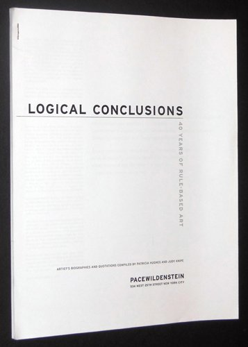 Logical Conclusions: 40 Years of Rule-Based Art Text Only Gallery Handout pdf
