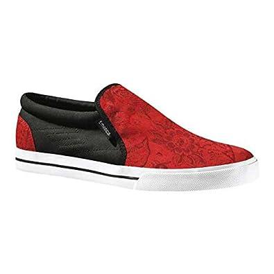 Emerica RIDGEMONT, Chaussures de skateboard pour homme - Rouge - Floral, 38 EU / 6 US EU