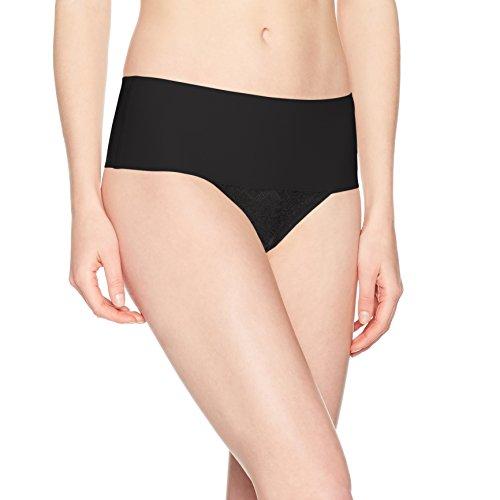Donna Undie 0 tectableace Black Black Slip Thong Spanx xIAdgqq
