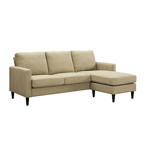 Dorel Asia DA7567SEC-BG Beckie Sectional Sofa, Beige