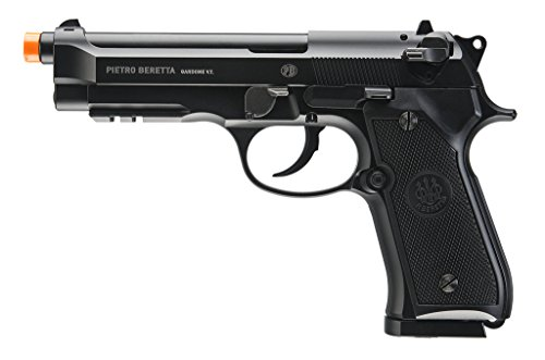 Beretta M92 A1 CO2 Full Auto Blowback Metal 6mm Soft Black by EF