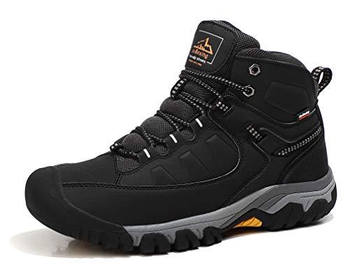 AX BOXING Bottes Homme Hiver Bottines Randonnée Trekking Chaudes Fourrées Chaussures Taille 41-46 1